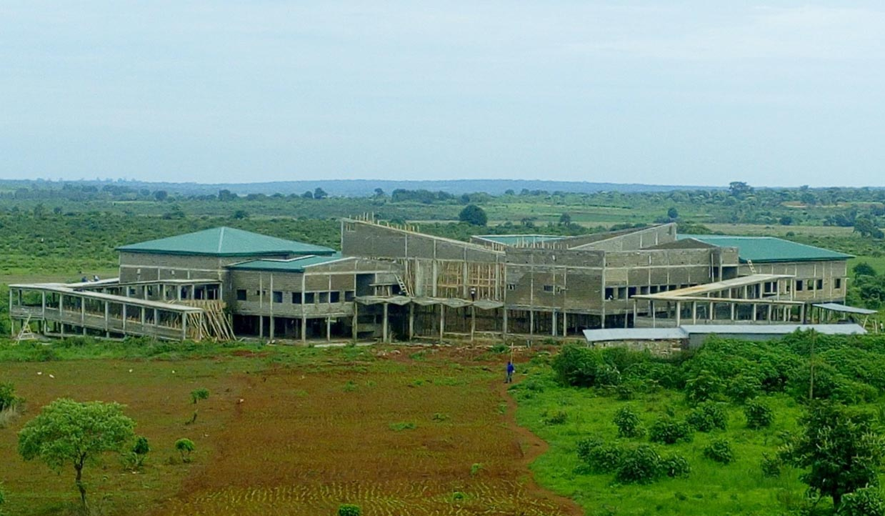 Université de Ngaoundéré : Travaux de contruction de L'ESMV