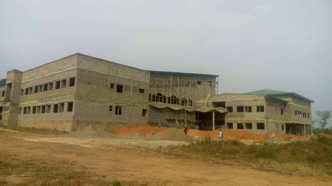 Université de Ngaoundéré : Travaux de contruction de L'EGEM